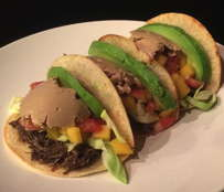 Duck Barbacoa and Foie'camole Taco Package