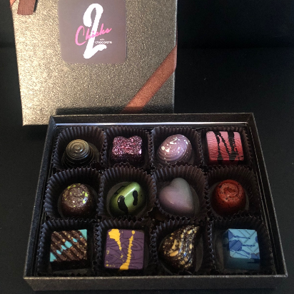 Artisan Chocolate Bon Bon Collection, 12 piece