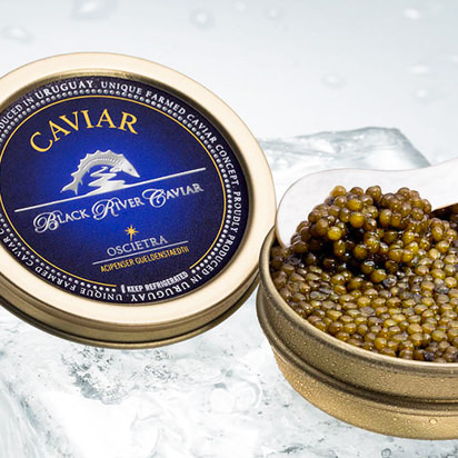 Black River Caviar Imperial Russian Oscietra Caviar