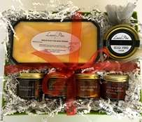 Foie, Caviar, and Fruit Preserves Gift Basket #3