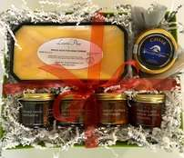 Foie, Caviar, and Fruit Preserves Gift Basket #4