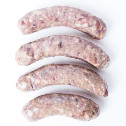 Wild Boar Sausage with Apples & Cranberries