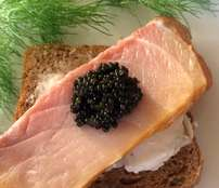Caviar and Smoked Sturgeon